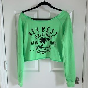 Off shoulder Key West sweater, small